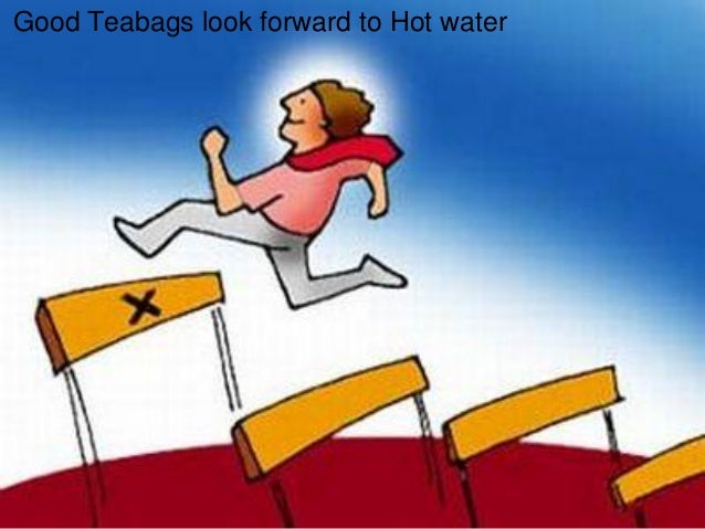 Good Teabags look forward to Hot water