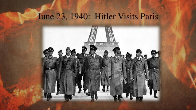 28 June 1940: Europe