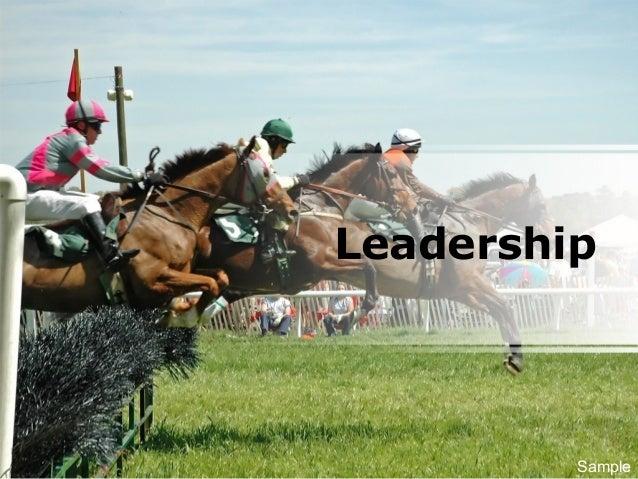 Leadership Sample