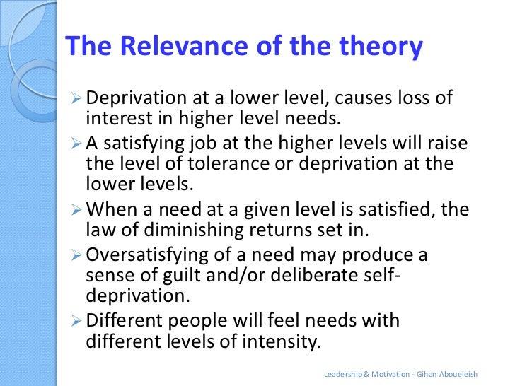 law of diminishing motivation The law of diminishing marginal utility is the basic law of consumption the law of demand, the law of equi-marginal utility, and the concept of consumer's surplus are based on it 2.