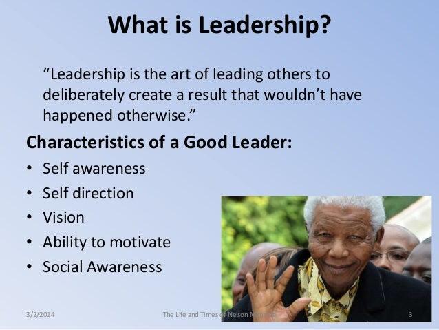 Nelson mandela leadership essay