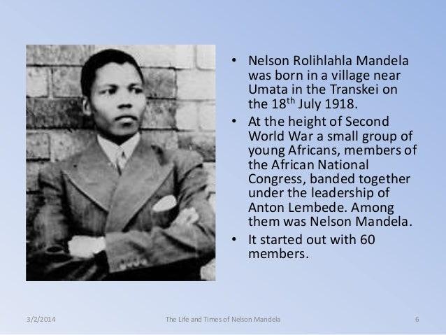 short biography nelson mandela afrikaans essay