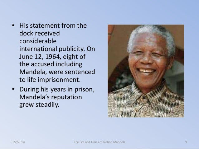 nelson mandela essay Watch a video clip of nelson mandela and frederik willem de klerk receiving their nobel peace prize medals and diplomas during the nobel peace prize award ceremony at.