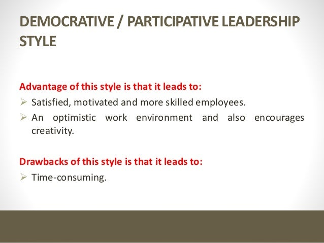 Leadership part 1