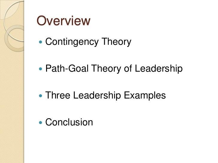 Path-Goal Theory of Leadership