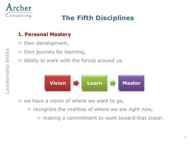 personal journey disciplines