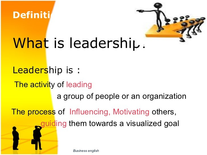 leadership presentation I have to do a 10 minute powerpoint presentation on my leadership style for a position in my company, any advice would be helpful doctor one of the best ways to.