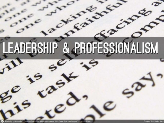 leadership and professionalism The new professional standards for teaching and leadership are now available nqts commencing induction on or after 1 september 2017 are.