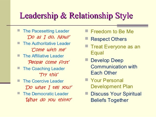 being a leader the relationship with gender
