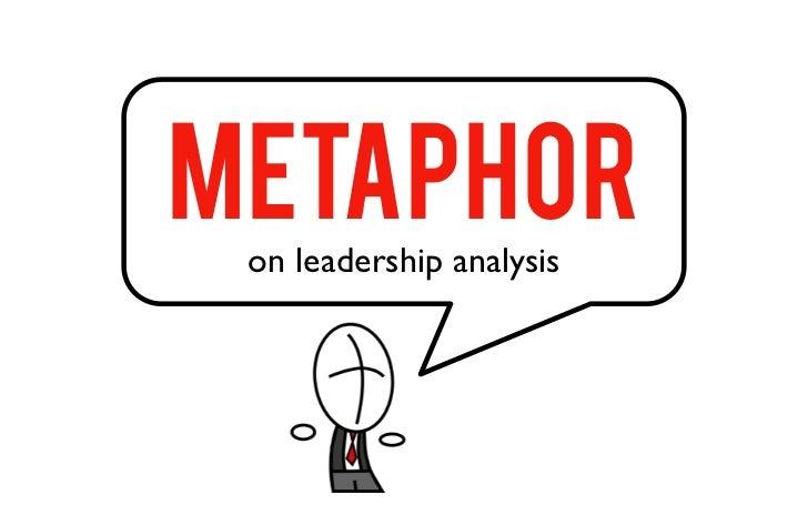 METAPHOR on leadership analysis