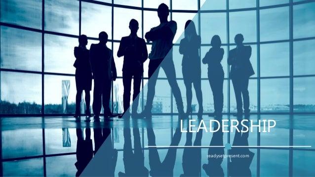 LEADERSHIP readysetpresent.com