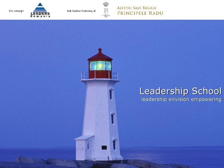 Leadership School leadership envision empowering