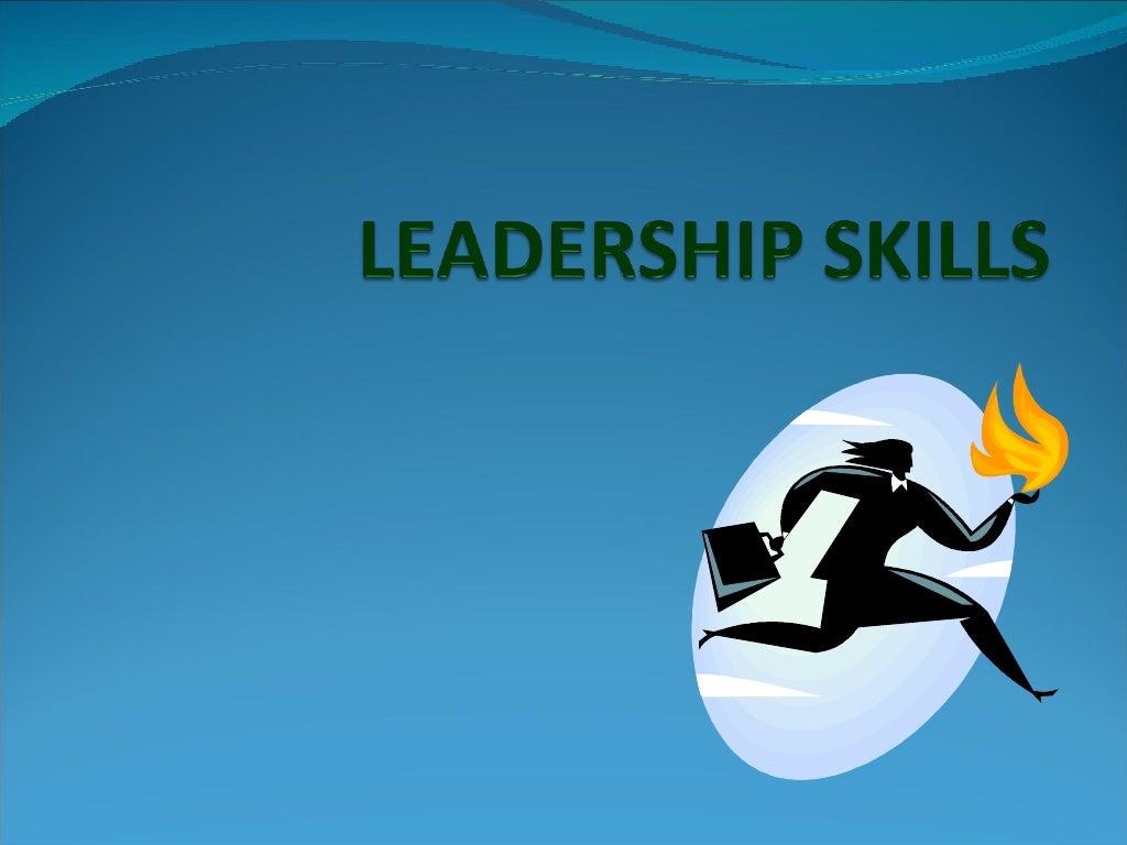 Leadership skills page 1