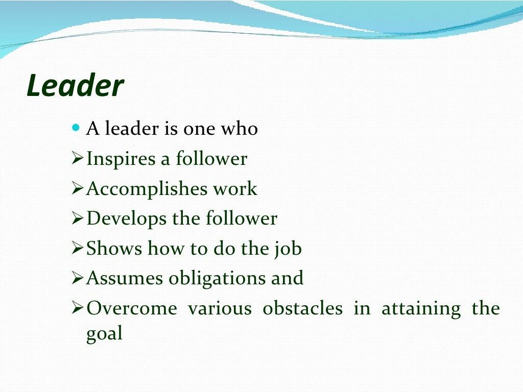 Leadership skills page 2