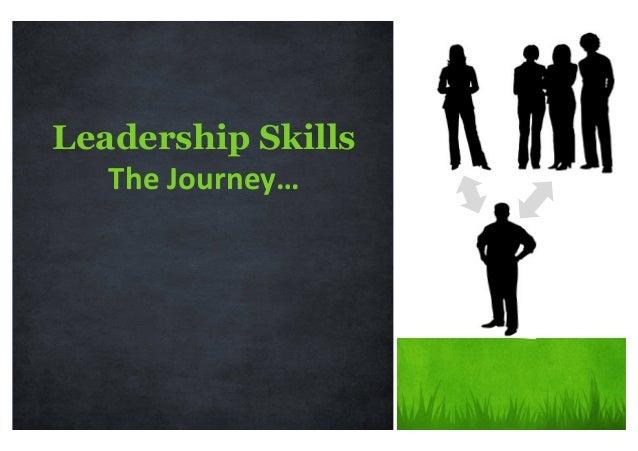 Leadership Skills TheJourney…