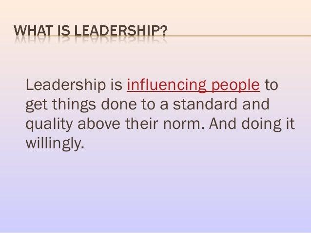 PPT LEADERSHIP SKILLS PowerPoint presentation