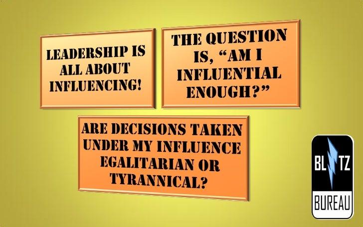 Leadership Skills Elucidated! Slide 3