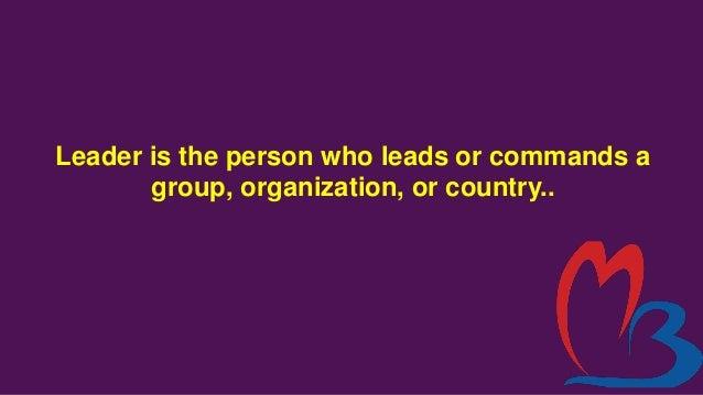 Leadership skills from animal kingdom Slide 3