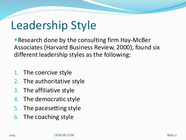 different leadership styles A leadership style is a leader's style of providing various authors have proposed identifying many different leadership styles as exhibited by leaders in the.