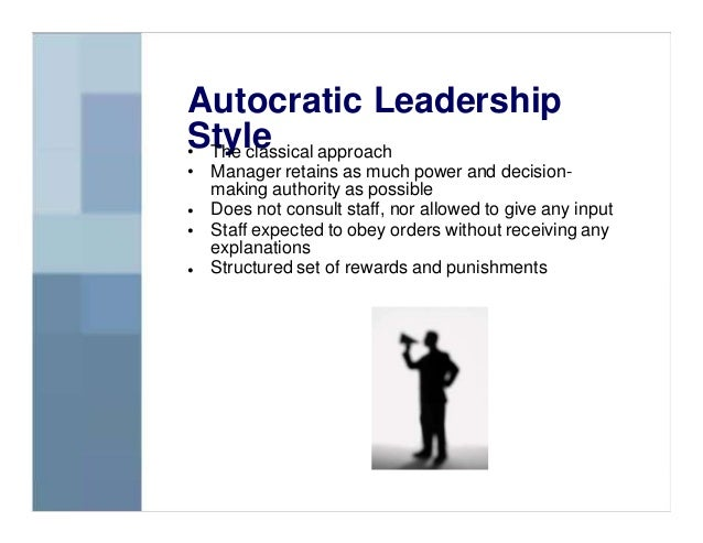 prison styles autocratic and bureaucratic Prison management has had two very distinct styles during its evolution: autocratic and bureaucraticwhat do you think are the most important aspect of each stylewhich style do you consider the most effective how has the role of the corrections officer.