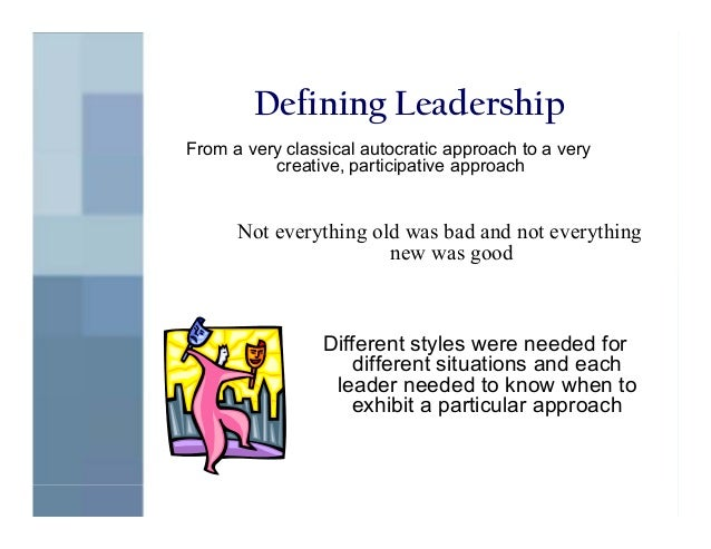 an introduction to the different types of leadership style How personality type influences leadership style according to linda kirby and katharine d myers in introduction to type likewise, judging types are.