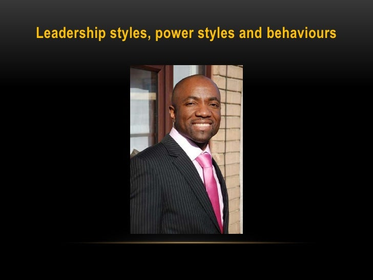 "leadership style and power Review paper: leadership styles  leadership style is significantly influenced by the leader""s immediate and extended family, clan and tribe this study."
