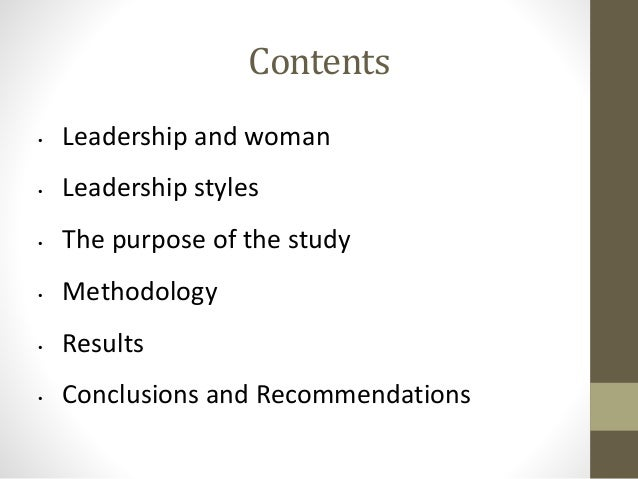 case study leadership styles organization