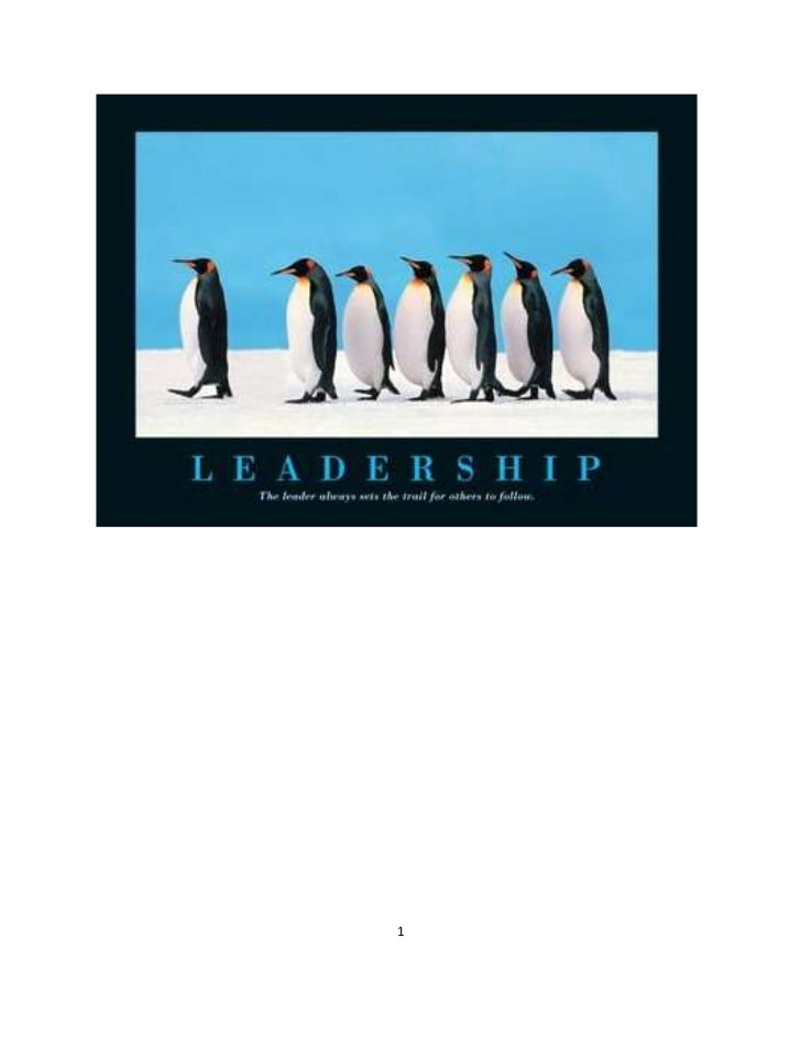 Table of Contents<br />CONTENTS   PAGE NO<br />Introduction and Definition3<br />Qualities/ characteristics of a leader4<b...
