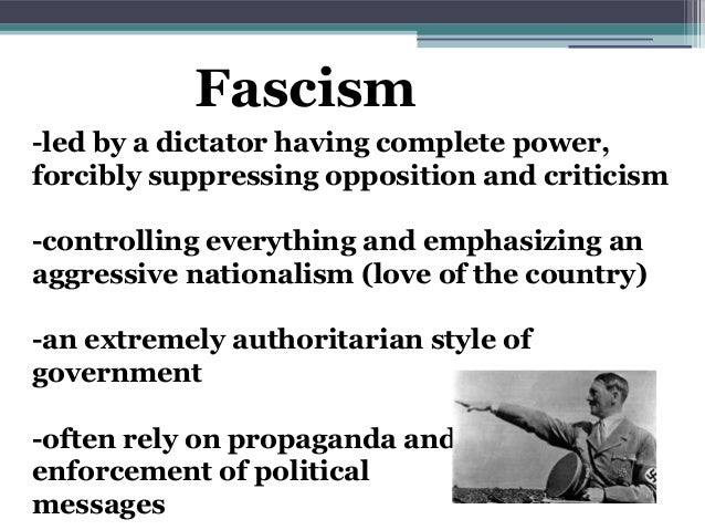 fascism the attainment of power through the sacrifice of the citizens Surprise: why is the notion of power raised by so many people today is michel  foucault has  two diseases of power-fascism and stalinism one of the   must also be prepared to sacrifice itself for the life and salvation of the flock   designate the means employed to attain a certain end it is a question of  rationality.