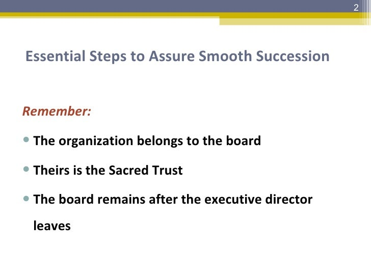 Leadership Succession Session3 Slide 2