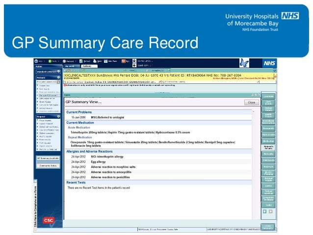 Lorenzo Patient Record System