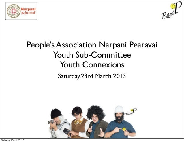 People's Association Narpani Pearavai                                 Youth Sub-Committee                                 ...