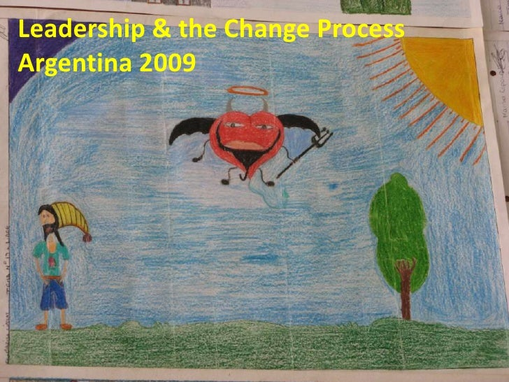 Leadership & the Change Process<br />Argentina 2009<br />Leadership & the Change Process<br />