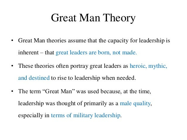 Trait theory leadership research papers