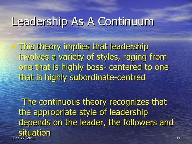 "style approach to leadership While this isn't necessarily a bad thing (there will always be certain strengths to your default style), failing to actively develop your leadership style will if this is not your natural approach, but is required within your job, find ways to blend your natural style with your ""stretch style"" so you're not putting on an."