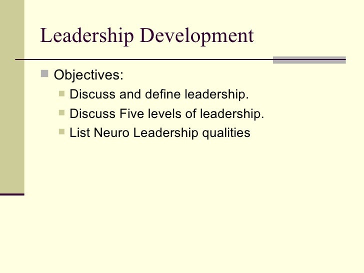 Leadership Training Powerpoint Slide 2