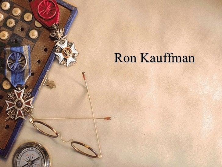 Ron Kauffman