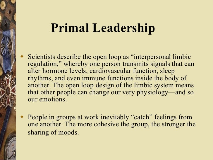 """<ul><li>Scientists describe the open loop as """"interpersonal limbic regulation,"""" whereby one person transmits signals that ..."""