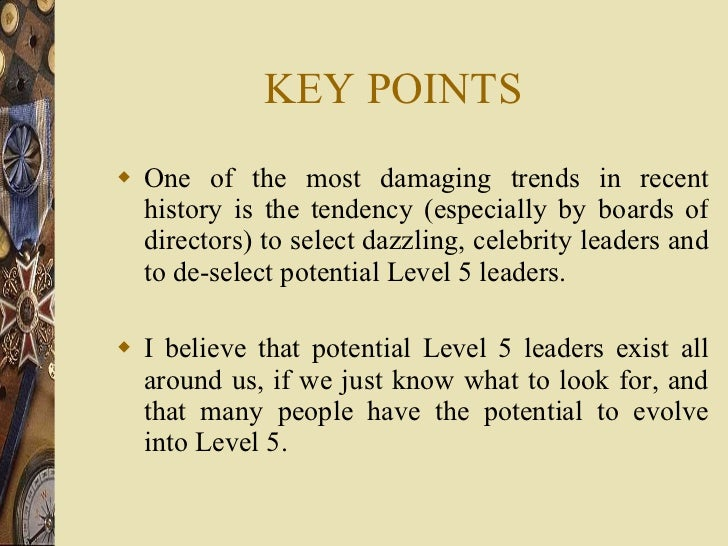 KEY POINTS <ul><li>One of the most damaging trends in recent history is the tendency (especially by boards of directors) t...