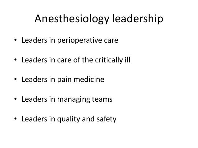 Barriers to leadership in anesthesia? A. Lack of mentorship B. Lack of remuneration C. Lack of opportunities D. A+B E. A+B...