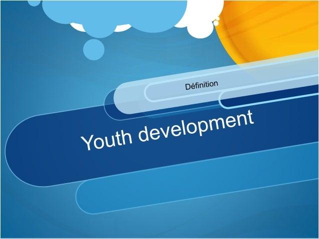 Leadership & youth development Slide 3