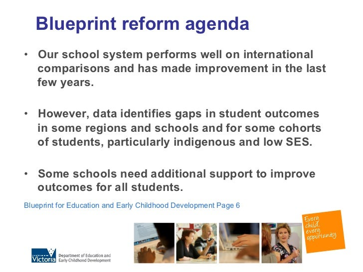 Leaders in the making blueprint for education and early childhood development 4 blueprint malvernweather Choice Image