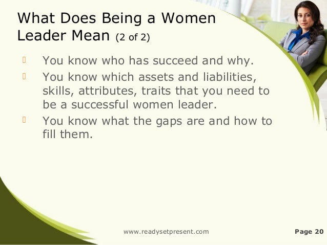 What does being a woman mean to you