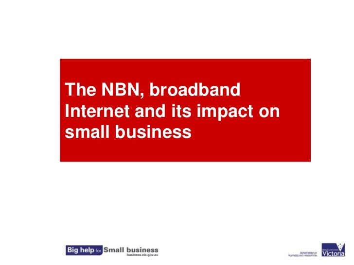 The NBN, broadband Internet and its impact on small business<br />Jane Nathan Marketing & Mediation<br />