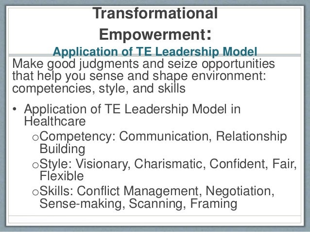 personal leadership model 2012-3-21 the purpose of this paper is to provide a model for global leadership development the  attitudes, skills, and personal background to build a profile of.
