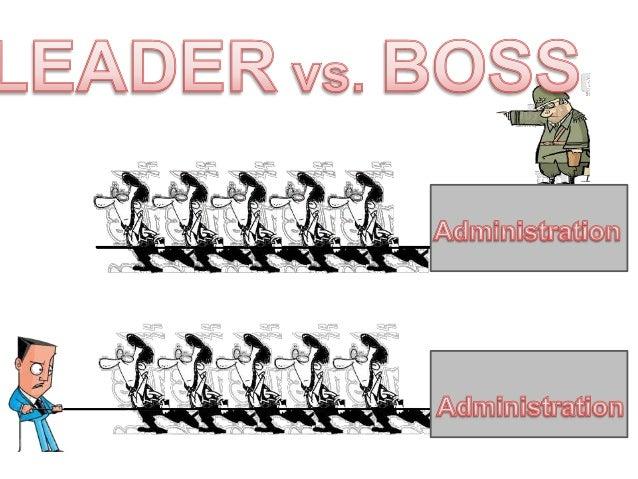 leader vsboss