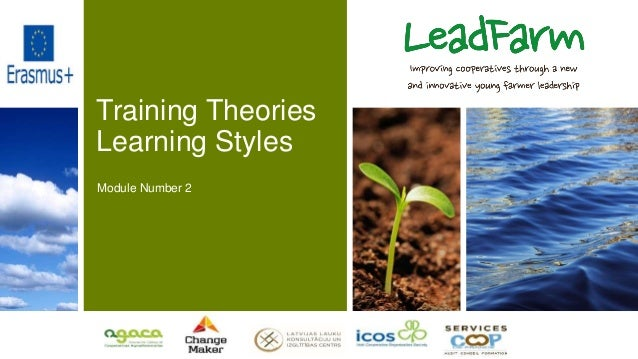 Training Theories Learning Styles Module Number 2