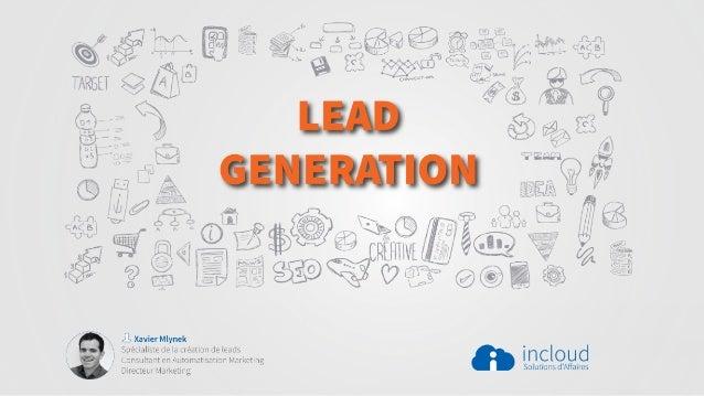 Présentation sur le Lead Generation