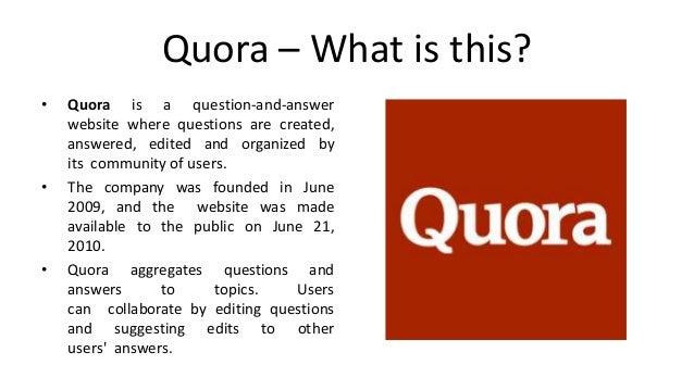 Lead Generation (Inbound) through Quora Slide 2
