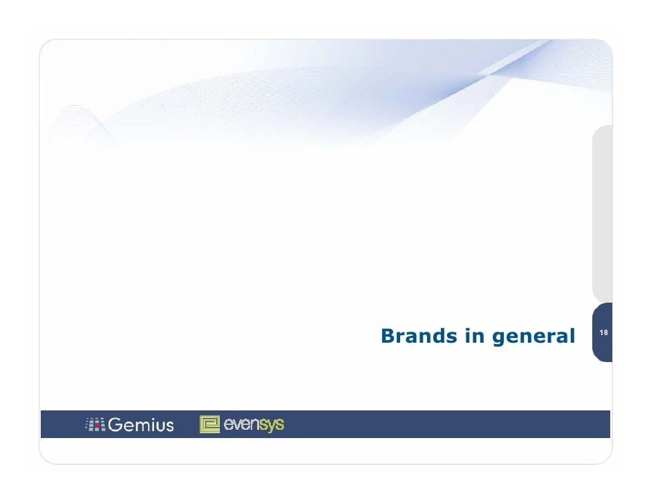 Brands in general   18